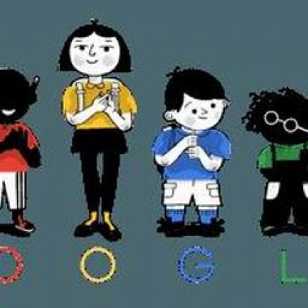 Google honors Thomas Braidwood's work thought its doodle art.