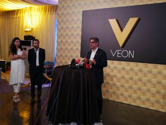 VEON BV partnered with Jazz to launch its app in Pakistan
