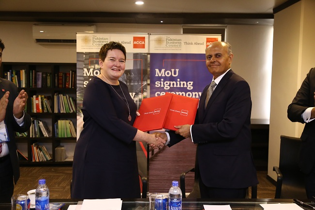 ACCA and PBC MoU Signing Ceremony