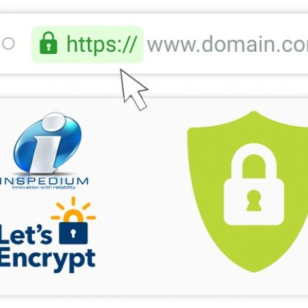 Inspedium partners with Let's Encrypt to enable HTTPS for their clients