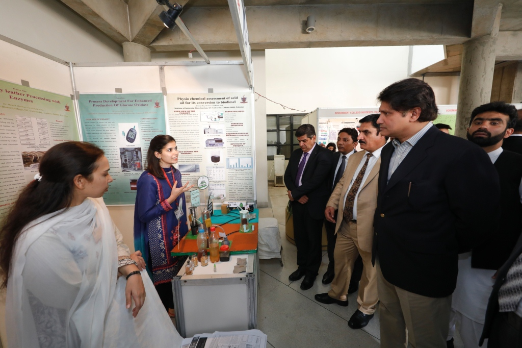 LUMS Hosts Regional Research Products Showcasing Event to Celebrate 15 Years of HEC