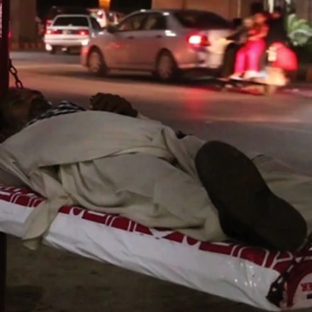 MoltyFoam campaign of billboards converts into comfy beds for the homeless