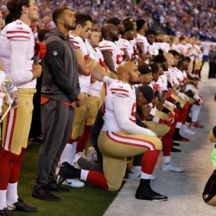 Players' protest against racial injustice invokes Pence protest disrespect