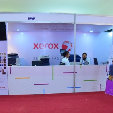 DWP Group along with its partner Xerox Ltd. participated in the PrintPak Exhibition 2017
