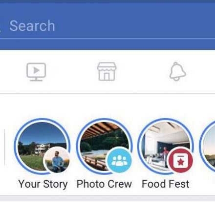 Collaborative Stories of Facebook for Groups and Events would add to your entertainment