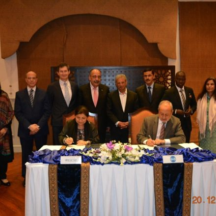 Minister for S&T, H.E. Rana Tanveer Hussain lauds agreement reached between COMSATS and UNESCAP