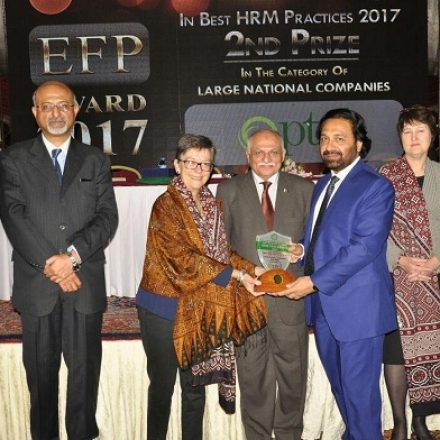 PTCL wins EFP Award on Best HRM Practices 2017