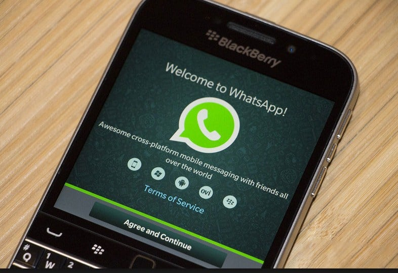Older BlackBerry and Windows phones would not be able to get WhatsApp