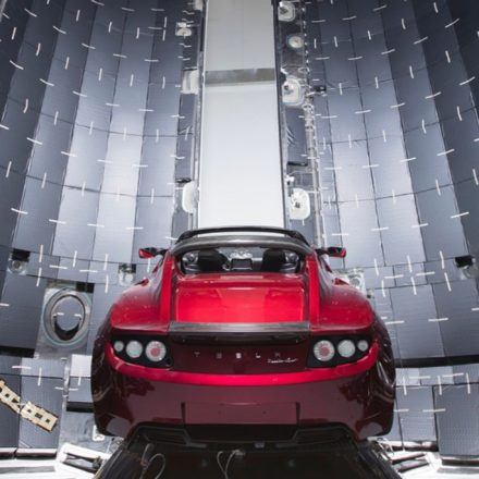 Sports car Tesla Roadster by Elon Musk is all set to hit Mars