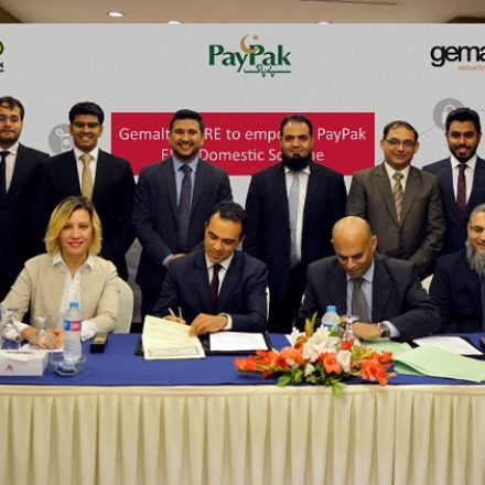 1LINK selects Gemalto PURE white-label EMV technology for PayPak- Domestic Payment Scheme