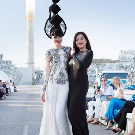 Jessica Minh Anh invites Syeda Amera to showcase her designs at Hong Kong