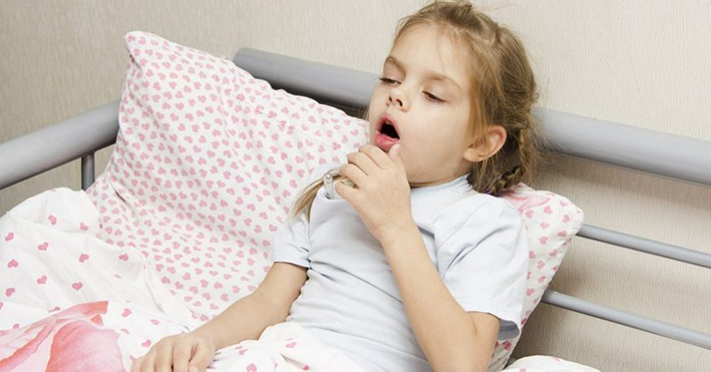 How to treat coughing children