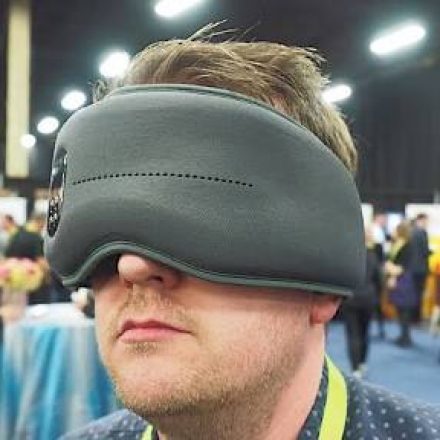 This smart eye mask could help you sleep and wake