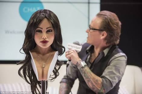 The world most ultra-realistic sex robot Harmony has a sister now