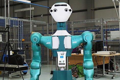Ocado has designed a robot prototype to help maintain warehouse bots