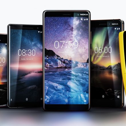 HMD Global introduces five new Nokia phones