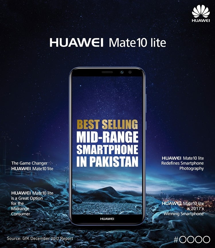 HUAWEI Mate 10 lite Emerges as the Mid-range Bestseller