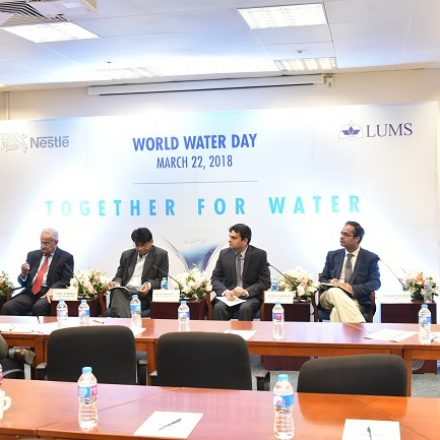 "Nestlé Pakistan seminar ""Together for Water"" held at LUMS"