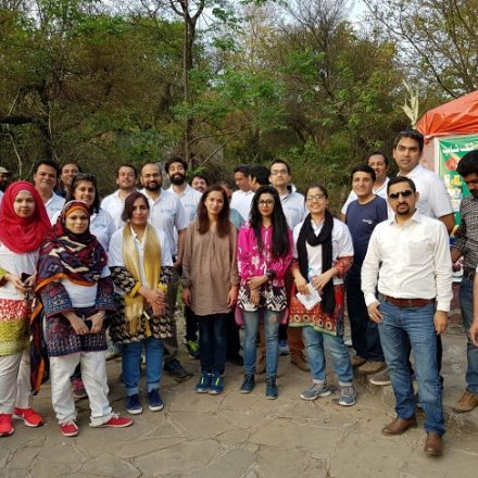 """PMIC staff engages in """"Hike and Clean – Trail 3"""" activity as part of Pakistan Day Celebrations"""
