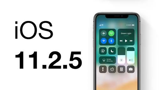 Downgrading or Upgrading to Apple's iOS 11.2.5 is not possible