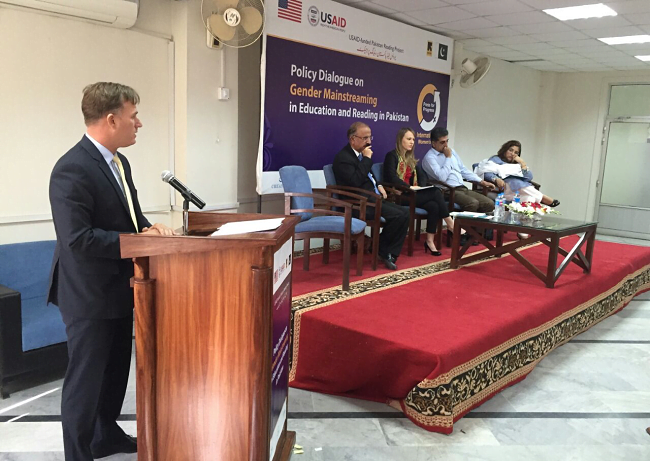 Pakistan Reading Project holds National Dialogue on Removing Gender Disparities in Education
