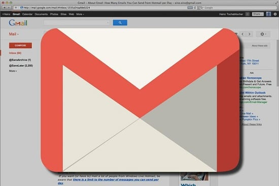 Gmail users are getting spam messages from themselves