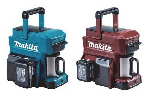 Makita releases a rugged coffee maker