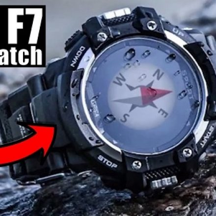 Get NO.1 F7 GPS Rugged Smartwatch from first 1000 discounted units