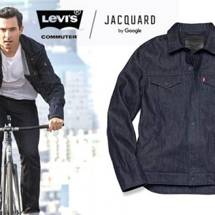 "Google helps Levi's make a  $350 ""smart jacket"""