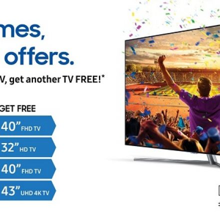Closer Than Ever to the Action with Samsung TVs