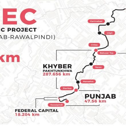The Highest network globally named Pak-China Fiber Optic cable Inaugurated