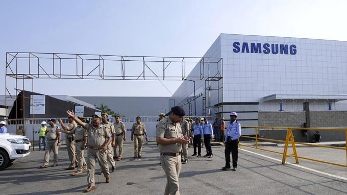 India becomes house of the world's largest smartphone factory by Samsung