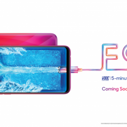 Oppo F9 teased with Essential like small notch