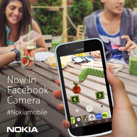 Nokia classic, Snake, comes to Facebook's new camera AR platform