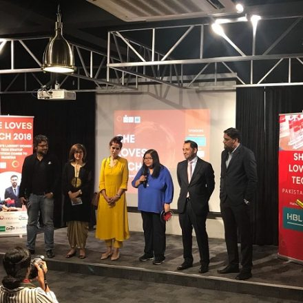 SheLovesTech 2018 Finals held in Karachi