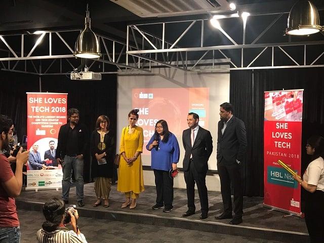 SheLovesTech 2018 Finals held in Karachi