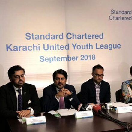 Standard Chartered and Karachi United launched Second  Youth League – Football Tournament