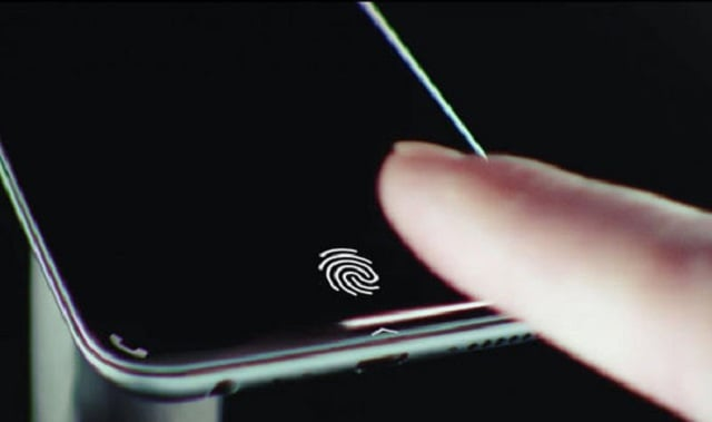 Finally a Samsung phone to come with an In-display fingerprint scanner?