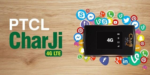 PTCL UPGRADES ITS CHARJI 4G LTE NETWORK