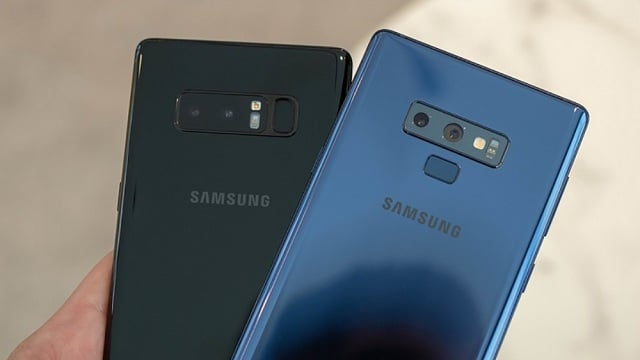 "Looking back at Note 8, what's new in the ""New Super Powerful Note""?"