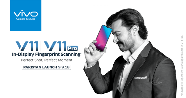 Vivo to launch V11 and V11 Pro with in-display fingerprint