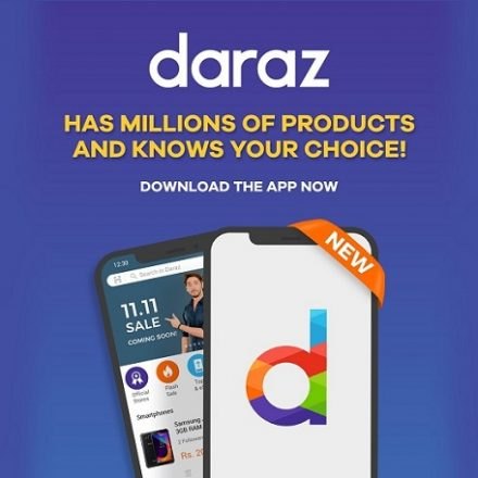 The New Daraz App has millions of products and knows your choice