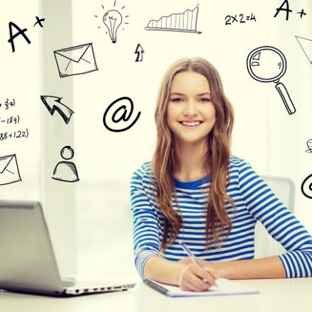 Doing the homework online; the new generation options;