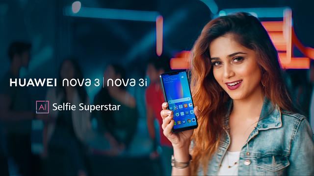The Hottest Smartphone of the Season HUAWEI nova 3i gets a New