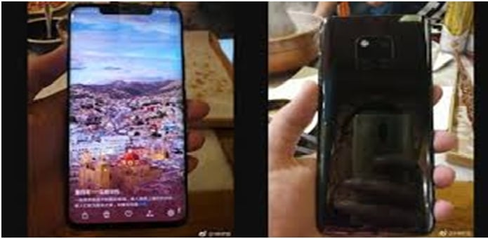 Hands-on Images of Huawei Mate 20 Pro have seemed to be leaked on the Internet.