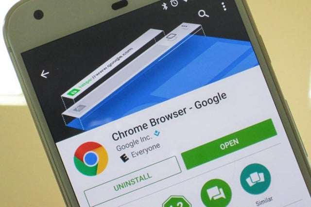 A good number of Android devices won't be Able to run chrome!