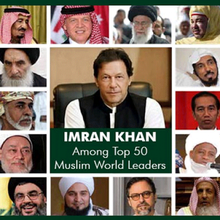 Imran Khan and Tariq Jameel secured the places among most influential Muslim leaders