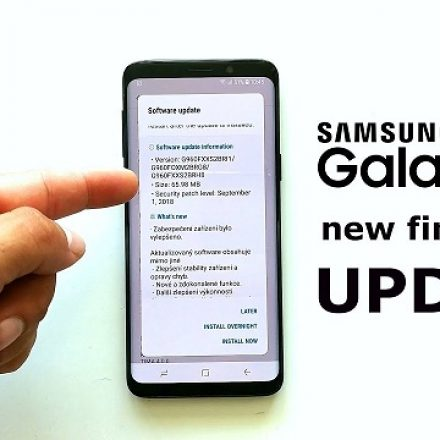 New update for Galaxy S9 and Galaxy S9+ users