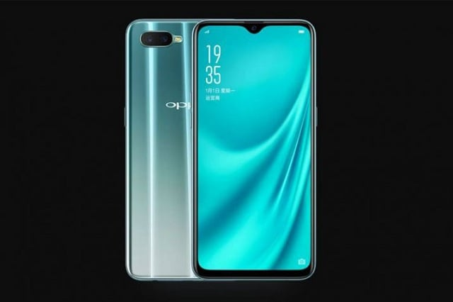 OPPO R15x now proceeds to go official with a Waterdrop notch