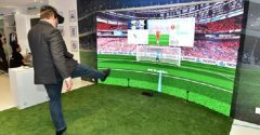 Nokia demonstrate new 5G use case with virtual reality football game at GITEX 2018